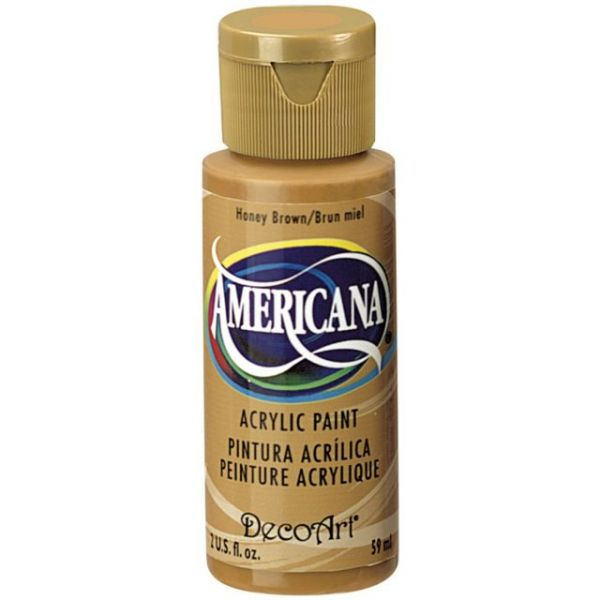 Deco Art Americana Honey Brown Acrylic Paint