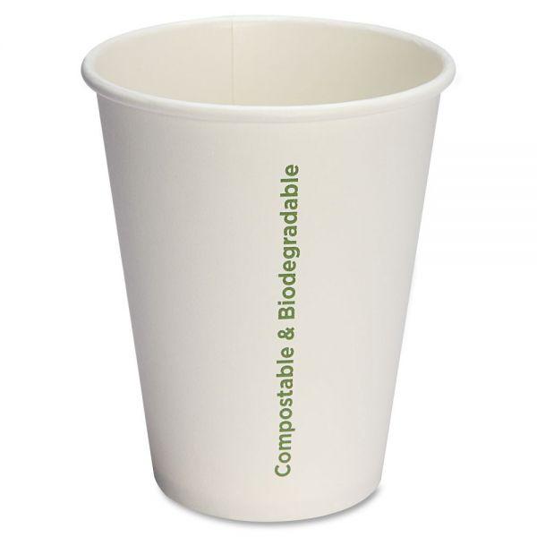 Genuine Joe Compostable 12 oz Paper Cups