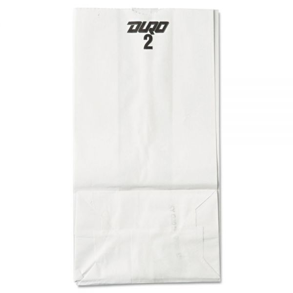 General #2 White Paper Grocery Bags