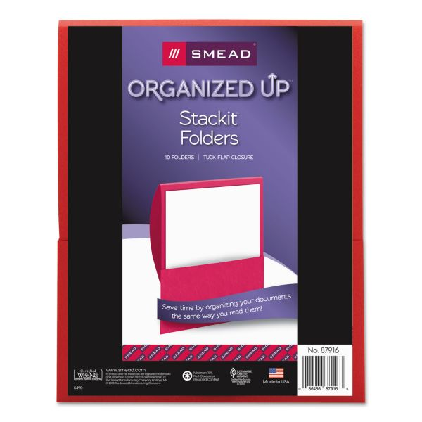 Smead Organized Up Stackit Folder
