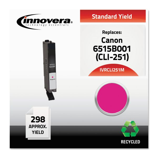 Innovera Remanufactured Canon CLI-251M (6515B001) Ink Cartridge