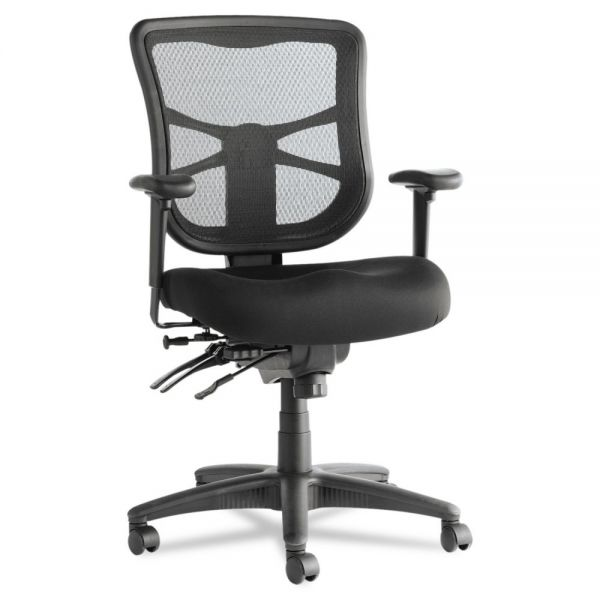 Alera Elusion Series Multifunction Mesh Mid-Back Swivel/Tilt Office Chair