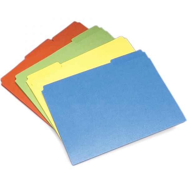 SKILCRAFT Colored File Folders