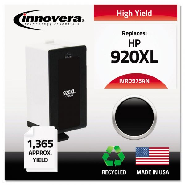 Innovera Remanufactured HP 920XL High-Yield Ink Cartridge