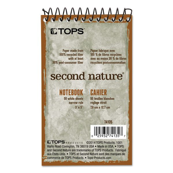 TOPS Second Nature Memo Notebook