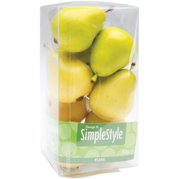Design It Simple Decorative Fruit 9/Pkg
