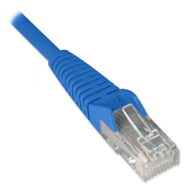 Tripp Lite 14ft Cat6 Gigabit Snagless Molded Patch Cable RJ45 M/M Blue 14'