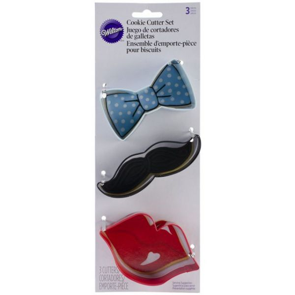 Cookie Cutter Set 3/Pkg