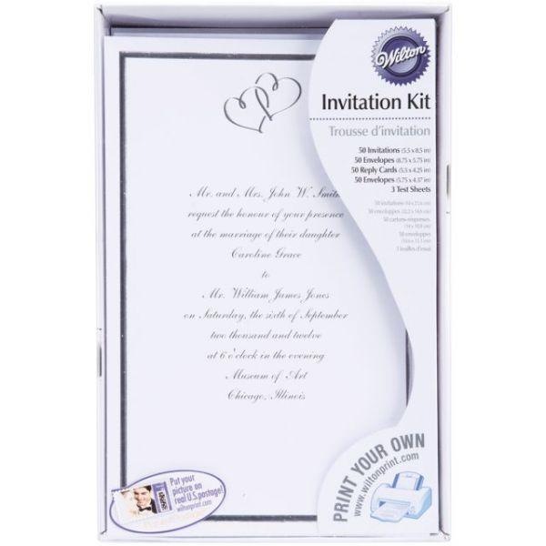 Invitation Kit Makes 50