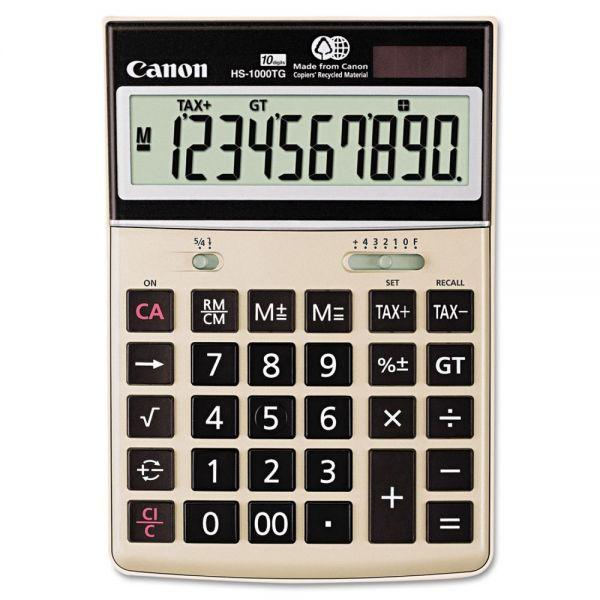 Canon HS-1000TG Desktop Calculator, 10-Digit LCD