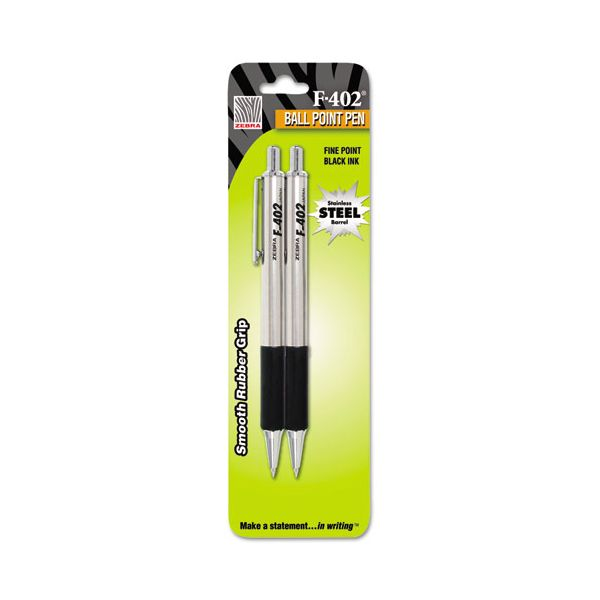 Zebra Pen F-402 Retractable Ballpoint Pens