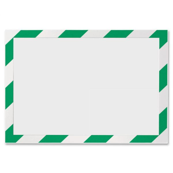 Durable Twin-color Border Self-adhs Security Frame