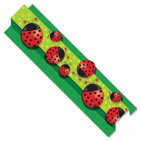 Carson-Dellosa Ladybugs Straight Borders