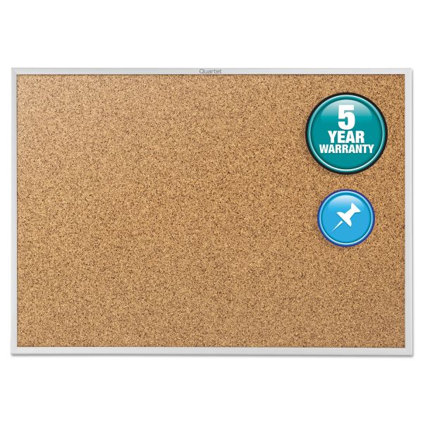 Quartet Cork Bulletin Board with Brackets