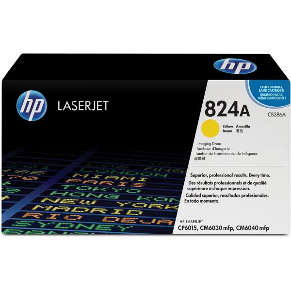 HP 824A Yellow Imaging Drum (CB386A)