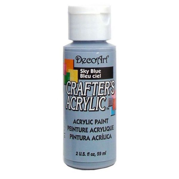 Deco Art Crafter's Acrylic Sky Blue Acrylic Paint