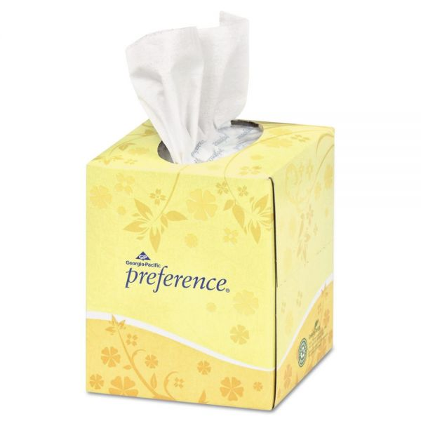 Georgia Pacific Professional Preference 2-Ply Facial Tissues