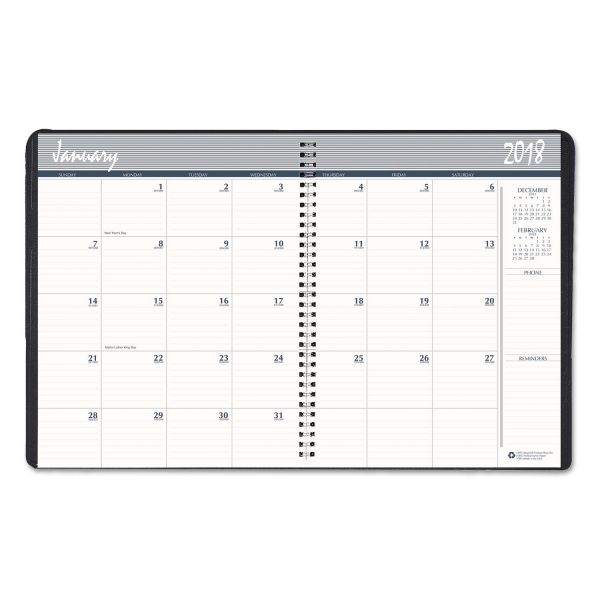 House of Doolittle Two-Year Hard Cover Monthly Planner