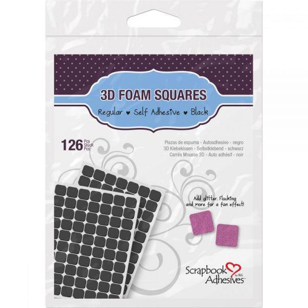 3D Self-Adhesive Foam Squares