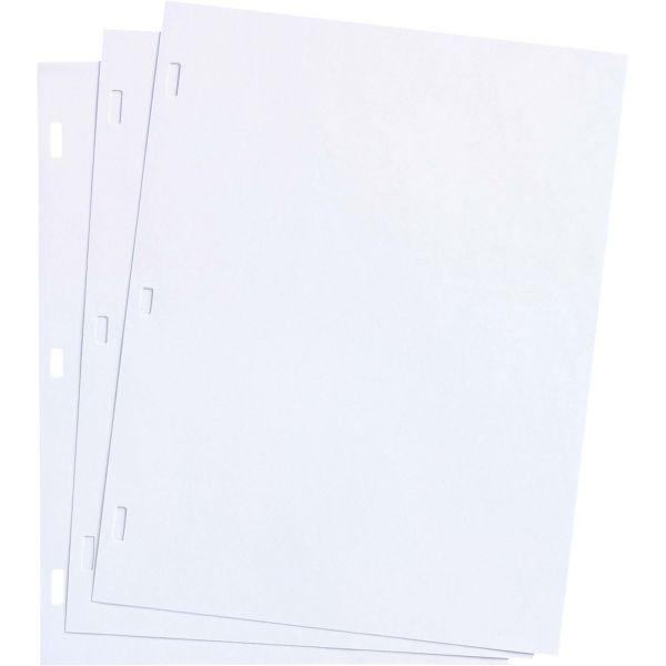 Wilson Jones White Ledger Paper