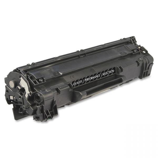 SKILCRAFT Remanufactured HP CE285A Black Toner Cartridge