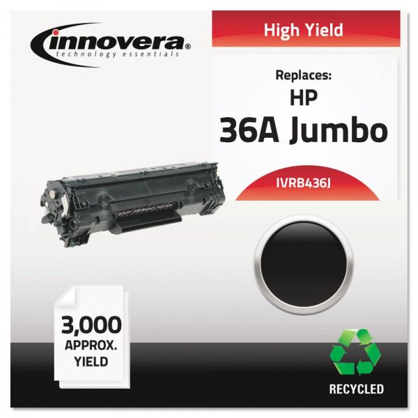 Innovera Remanufactured HP 36A (CB436A(J) Toner Cartridge