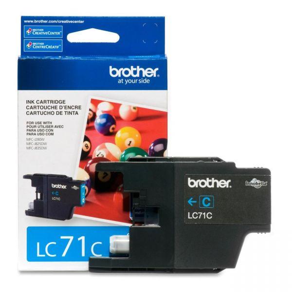Brother LC71C Cyan Ink Cartridge