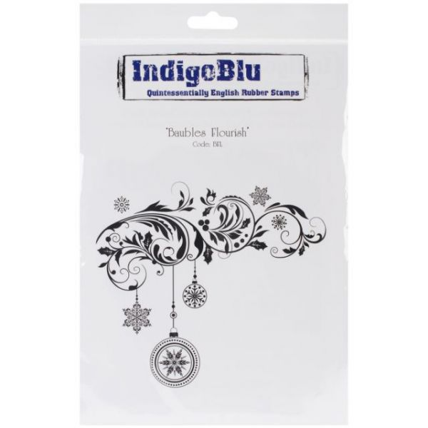 "IndigoBlu Cling Mounted Stamp 9.25""X6.25"""