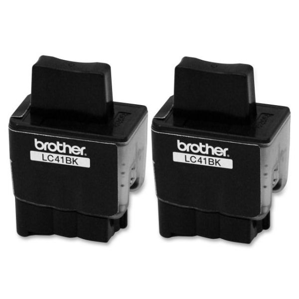 Brother LC41BK2PKS Black Ink Cartridges