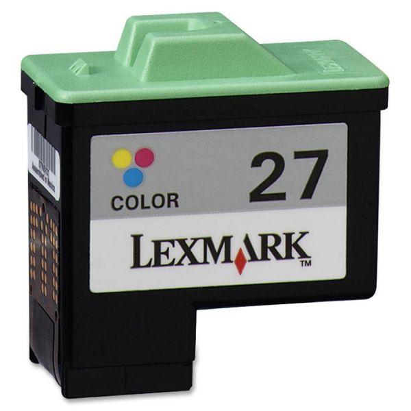 Lexmark 10N0227 (27) Ink, Tri-Color