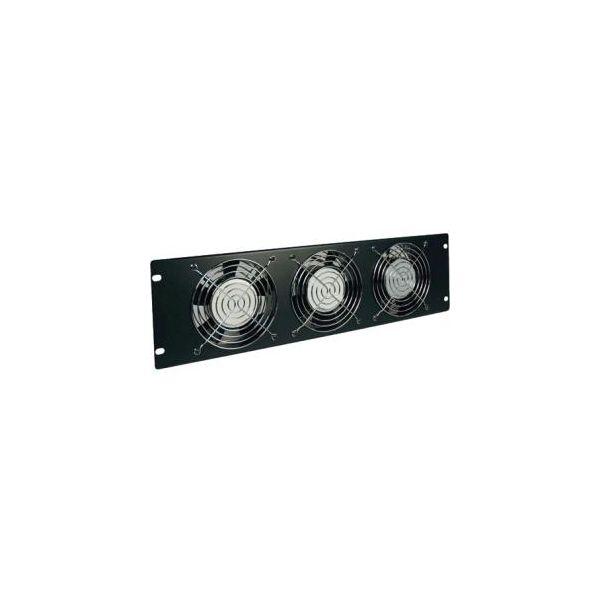 Tripp Lite Rack Enclosure Cabinet Fan Panel Airflow Management 120V 3URM