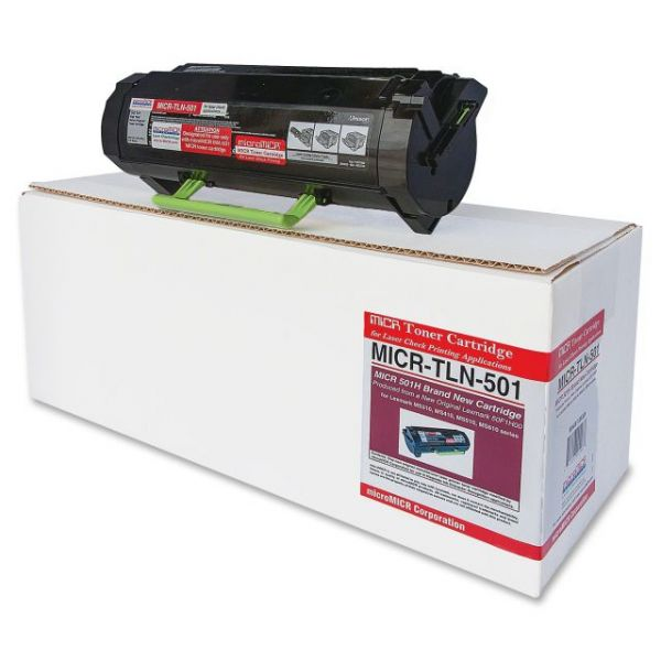 Micromicr Remanufactured Lexmark TLN501 Toner Cartridge