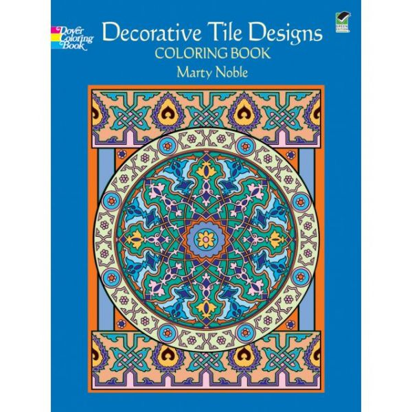 Dover Publications: Decorative Tile Designs Coloring Book