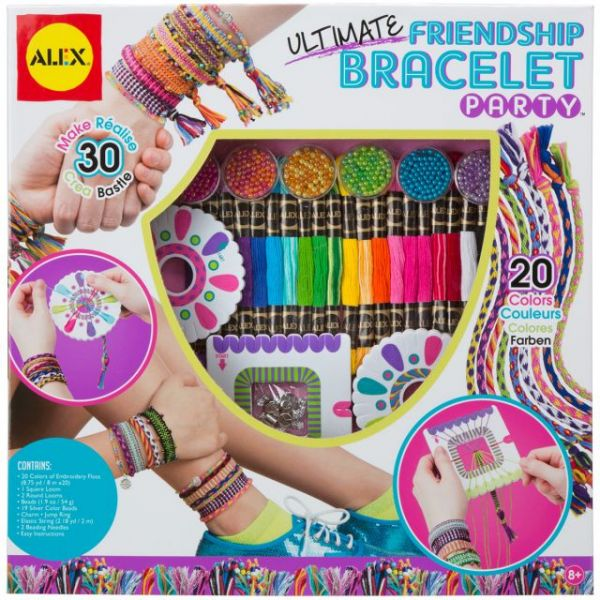 ALEX Toys DIY Ultimate Friendship Bracelet Party Kit