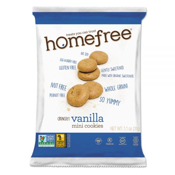 Homefree Gluten Free Vanilla Mini Cookies