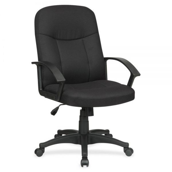 Lorell Executive Fabric Mid-Back Office Chair