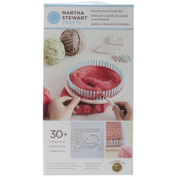 Martha Stewart Crafts Knit & Weave Loom