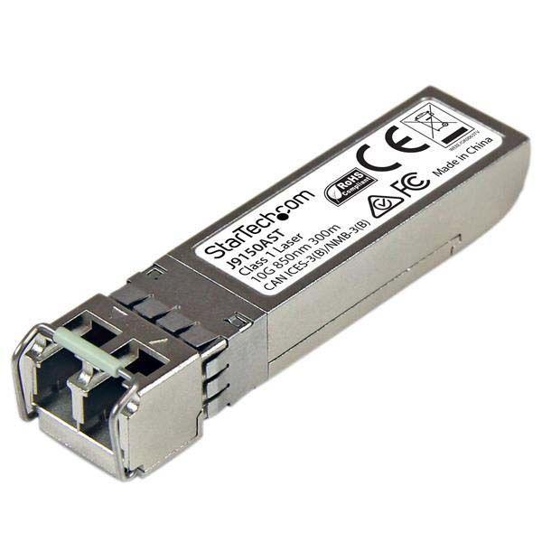 StarTech.com 10 Gigabit Fiber SFP+ Transceiver Module - HP J9150A Compatible - MM LC with DDM - 300m (984 ft) - 10GBase-SR