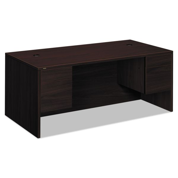 "HON 10500 Series Double Pedestal Desk | 2 Box / 2 File Drawers | 72""W"