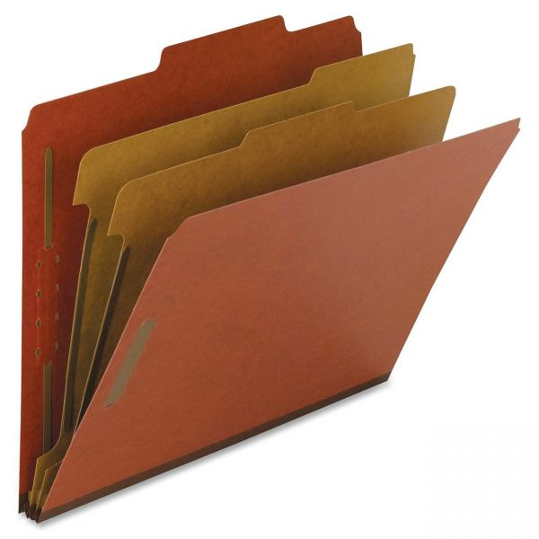 Nature Saver 2-Divider Pressboard Classification Folders