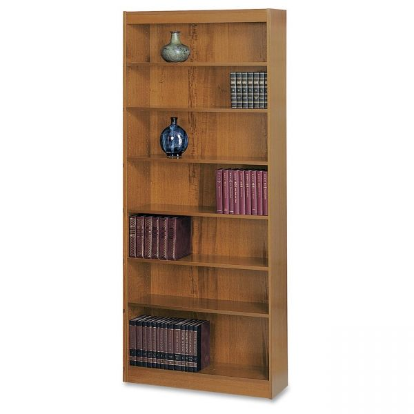 Safco Square-Edge 7-Shelf Bookcase