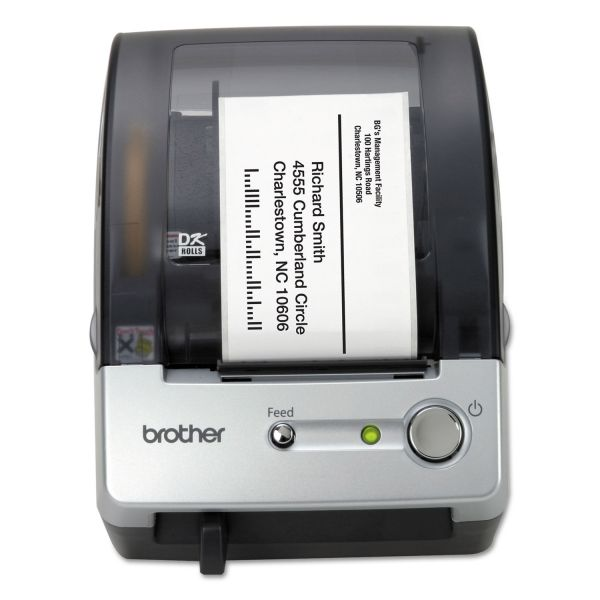 Brother P-touch QL-500 Thermal Transfer Printer - Monochrome - Label Print
