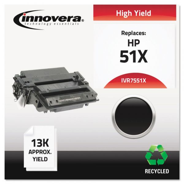 Innovera Remanufactured HP 51X (Q7551X) High Yield Toner Cartridge