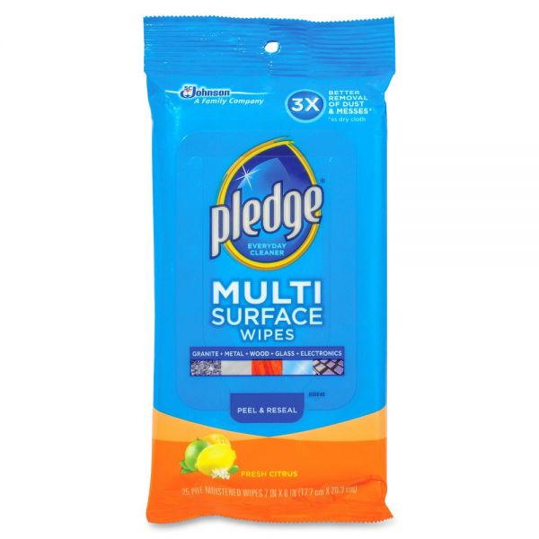 Pledge Multi Surface Everyday Wipes