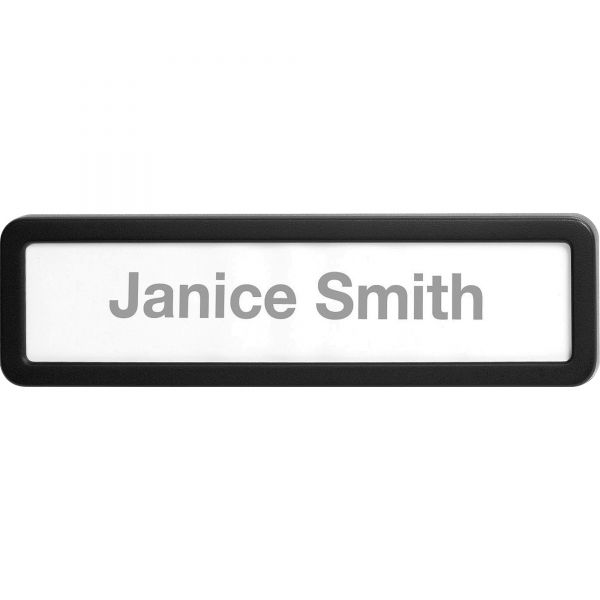 Lorell Recycled Plastic Cubicle Nameplate