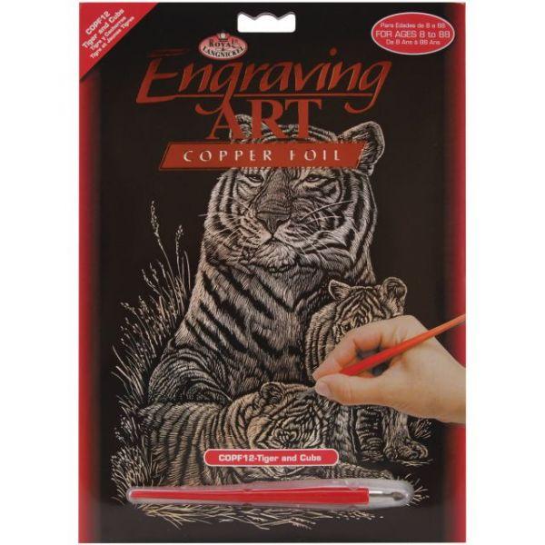 Copper Foil Engraving Art Kit