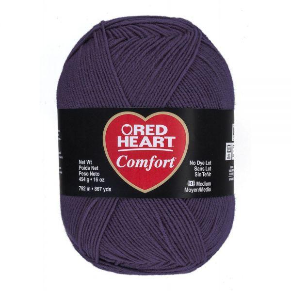 Red Heart Comfort Yarn - Vintage Purple