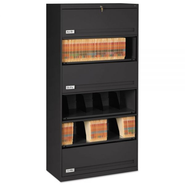 Tennsco 5 Shelf Lateral File Cabinet