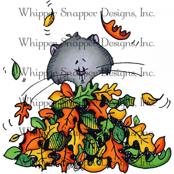 """Whipper Snapper Cling Stamp 4""""X6"""""""