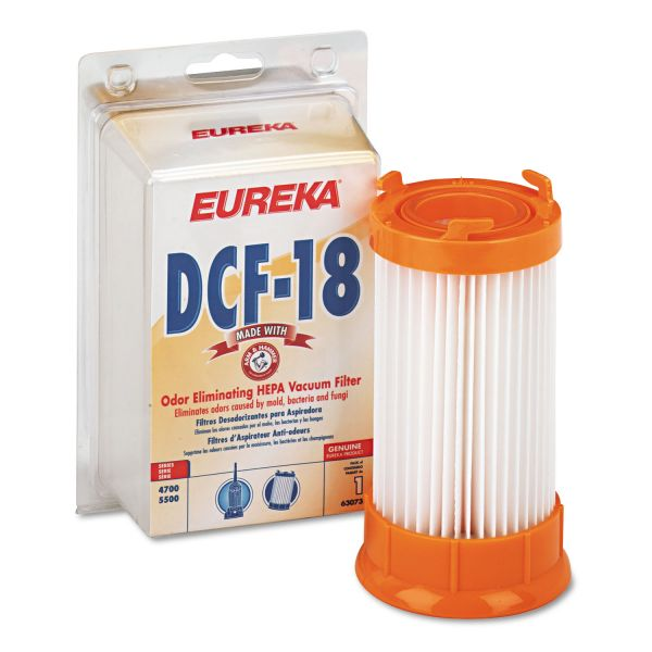 Eureka DCF-18 Washable Dust Cup Filter for 4700/5550/HP5550 Series Vacuums, 1/EA